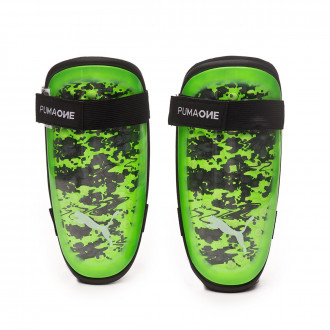 Protège tibia  Puma One 5 Green gecko-Puma black-Charcoal gray