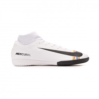 Zapatilla  Nike Mercurial SuperflyX VI Academy LVL UP IC White-Black-Pure platinum