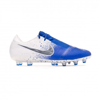 Chuteira Nike Phantom Venom Elite AG-Pro White-Black-Racer blue