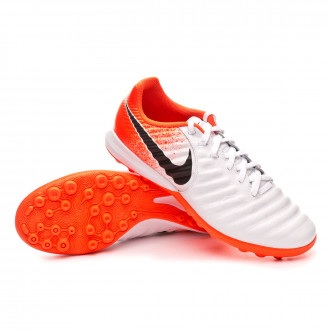 Zapatilla  Nike Lunar LegendX 7 Pro Turf White-Black-Hyper crimson