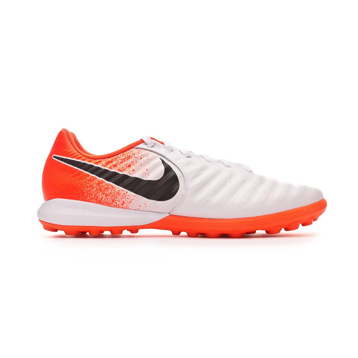 c74770d97b3 Football Boot Nike Lunar LegendX 7 Pro Turf White-Black-Hyper crimson -  Football store Fútbol Emotion