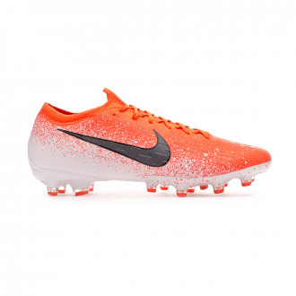 Chaussure de foot  Nike Mercurial Vapor XII Elite AG-Pro Hyper crimson-Black-White