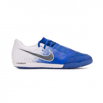 Futsal Boot  Nike Zoom Phantom Venom Pro IC White-Black-Racer blue