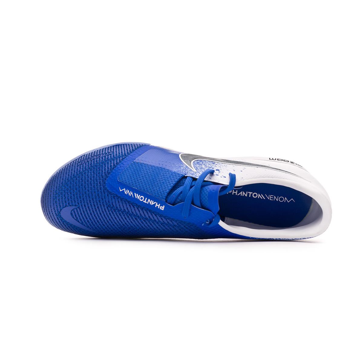 773b2f99765 Futsal Boot Nike Zoom Phantom Venom Pro IC White-Black-Racer blue -  Football store Fútbol Emotion