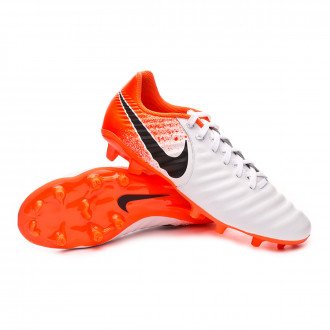 Football Boots  Nike Tiempo Legend VII Academy FG White-Black-Hyper crimson