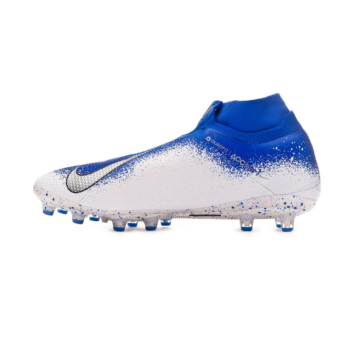 d2455075a Football Boots Nike Phantom Vision Elite DF AG-Pro Racer blue-Chrome-White  - Football store Fútbol Emotion