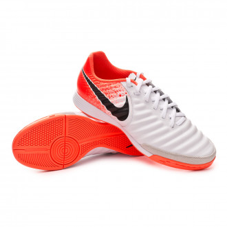 Zapatilla  Nike Tiempo LegendX VII Academy IC White-Black-Hyper crimson