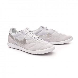 Zapatilla  Nike Tiempo Premier II Sala IC Pure platinum-Metallic silver-White