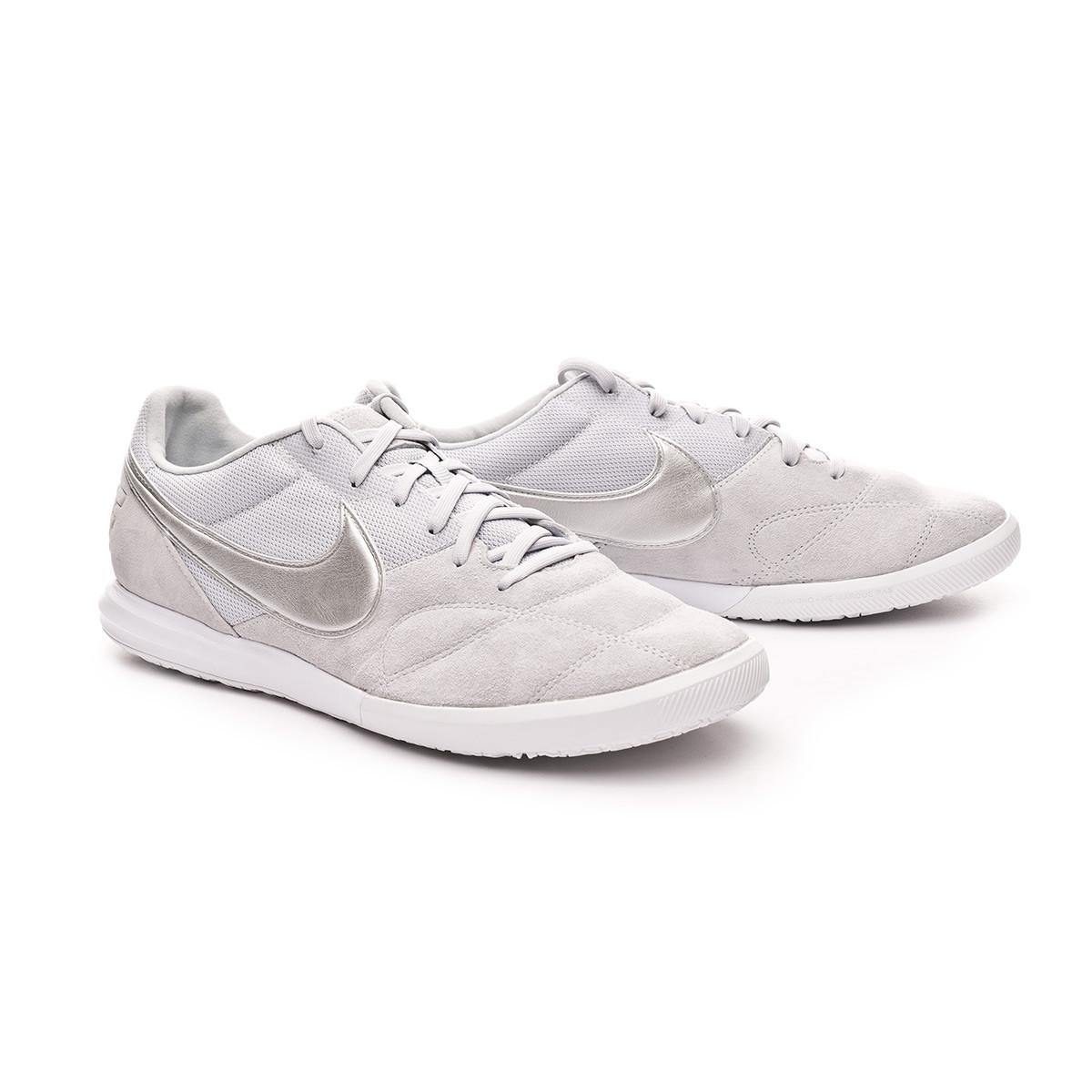 Zapatilla Nike Tiempo Premier II Sala IC Pure platinum