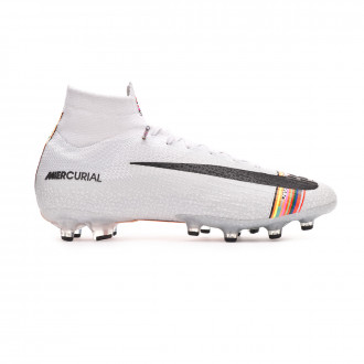 Chaussure de foot  Nike Mercurial Superfly VI Elite LVL UP AG-Pro White-Black-Pure platinum