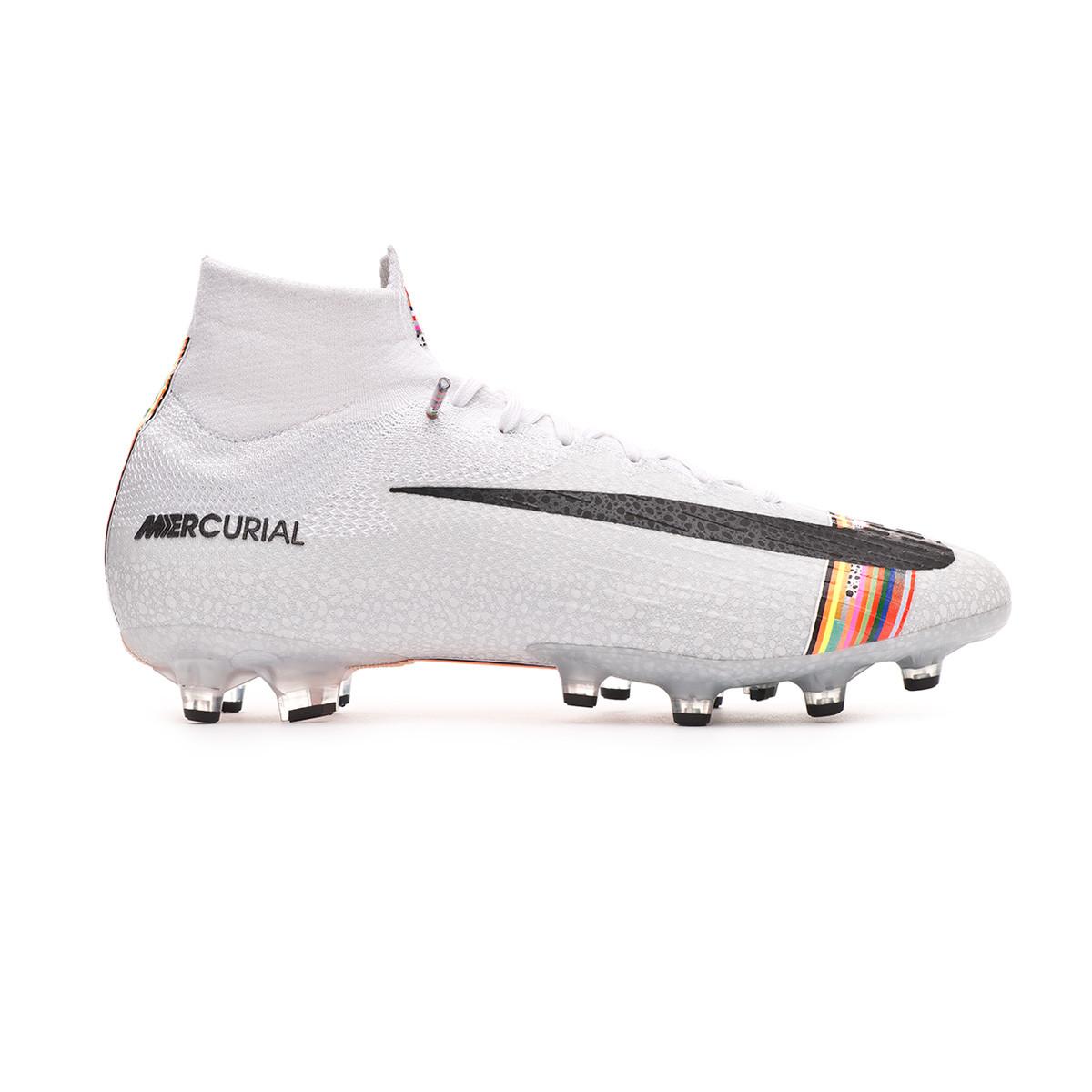 afd2336ff3e88 Zapatos de fútbol Nike Mercurial Superfly VI Elite LVL UP AG-Pro  White-Black-Pure platinum - Tienda de fútbol Fútbol Emotion