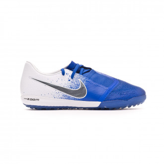 Zapatilla Nike Zoom Phantom Venom Pro Turf White-Black-Racer blue