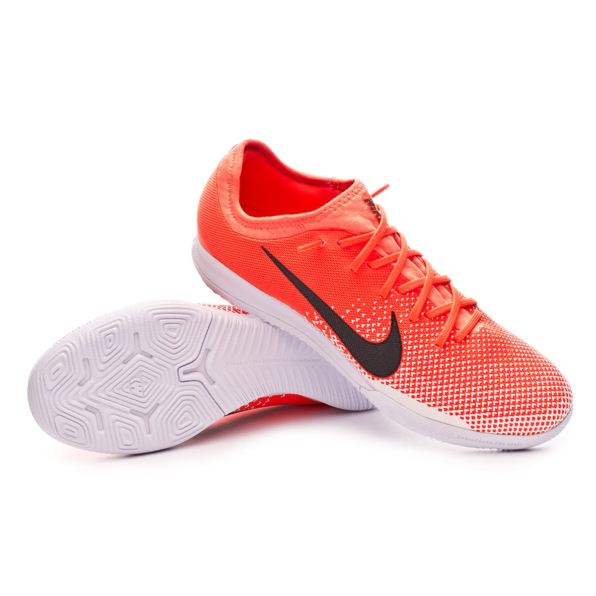 68b93cf54 Futsal Boot Nike Mercurial VaporX XII Pro IC Hyper crimson-Black-White -  Football store Fútbol Emotion