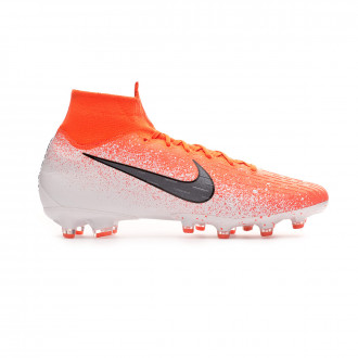 Chaussure de foot  Nike Mercurial Superfly VI Elite AG-Pro Hyper crimson-Black-White