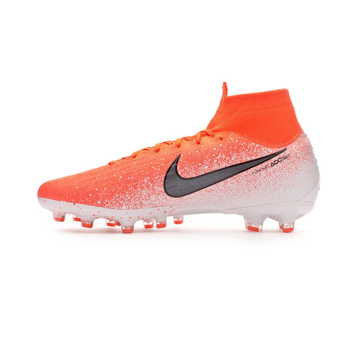7b94f2a15 Football Boots Nike Mercurial Superfly VI Elite AG-Pro Hyper  crimson-Black-White - Football store Fútbol Emotion