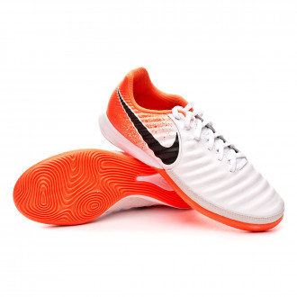Zapatilla  Nike Tiempo LegendX VII Pro IC White-Black-Hyper crimson