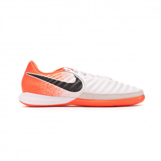 Futsal Boot  Nike Tiempo LegendX VII Pro IC White-Black-Hyper crimson