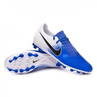Zapatos de fútbol  Nike Phantom Venom Academy AG-R White-Black-Racer blue