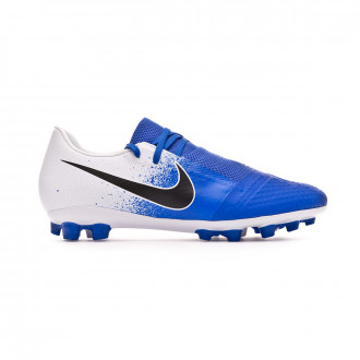 Football Boots  Nike Phantom Venom Academy AG-R White-Black-Racer blue
