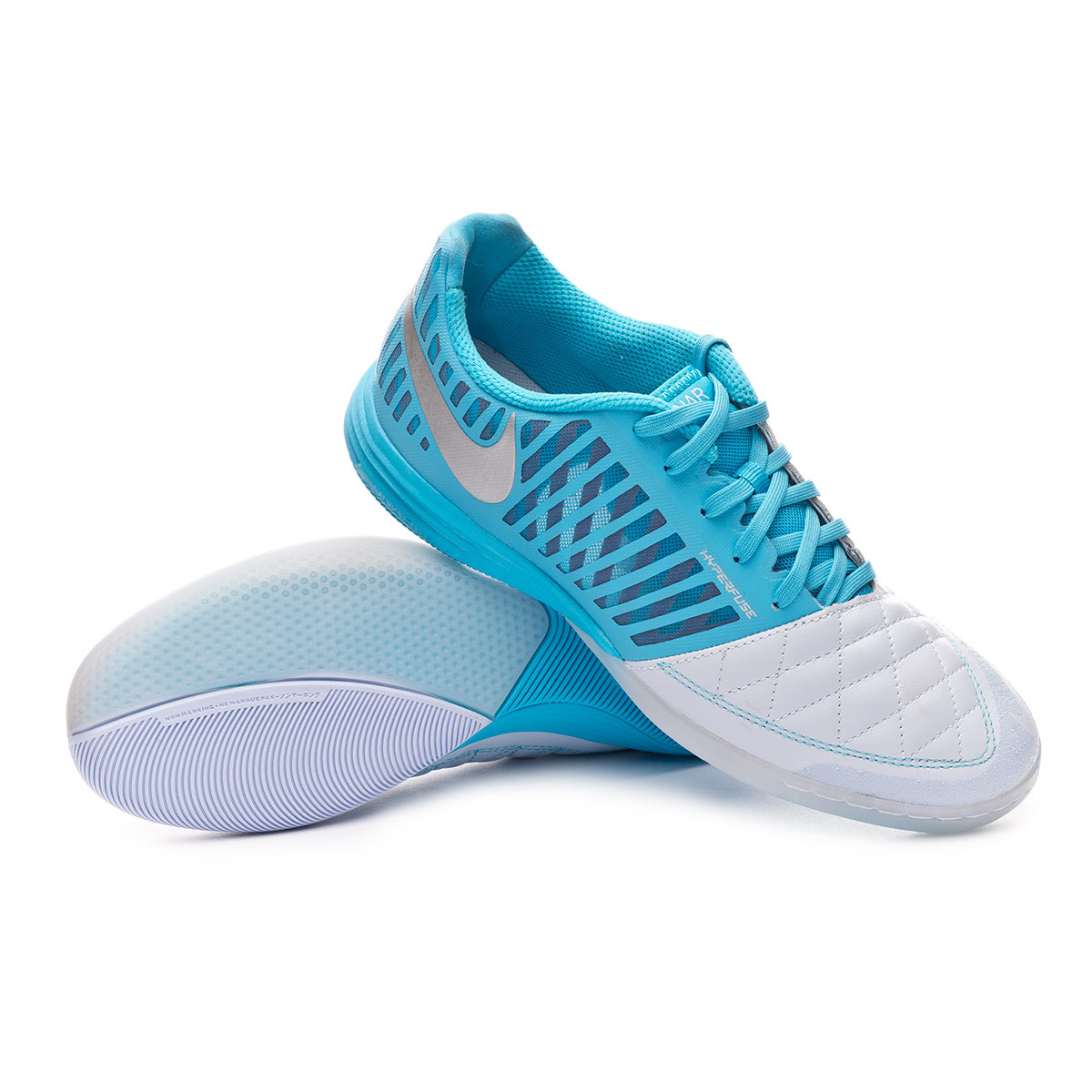 reputable site 1aaad 389d7 Futsal Boot Nike Lunar Gato II IC Half blue-Metallic silver-Blue fury -  Football store Fútbol Emotion