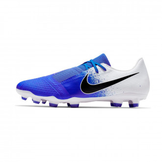 Football Boots  Nike Phantom Venom Academy FG White-Black-Racer blue