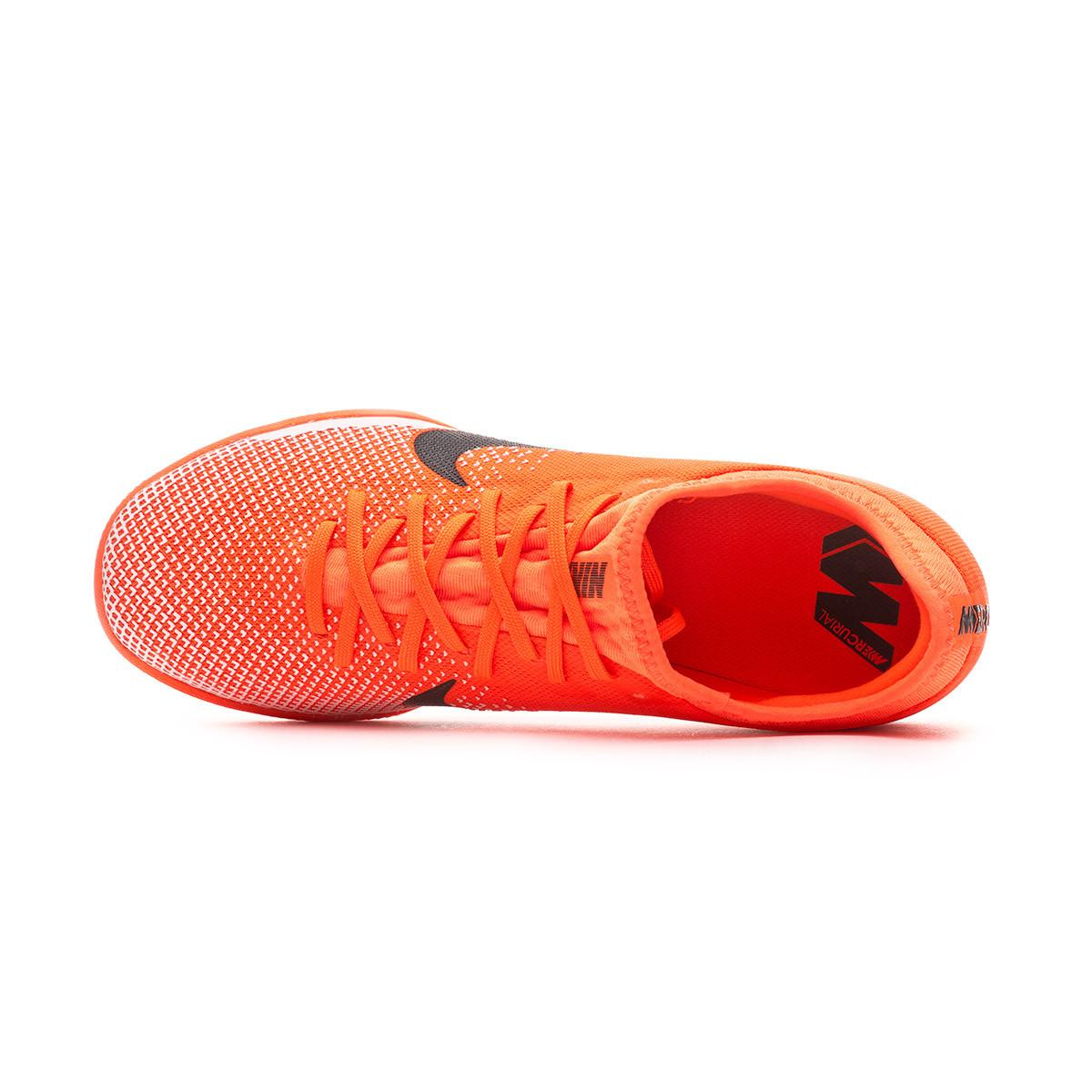 Nike Mercurial VaporX XII Pro IC BlancoGrisNaranja