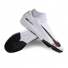 04804aa27 Football Boot Mercurial SuperflyX VI Academy LVL UP Turf White-Black-Pure  platinum
