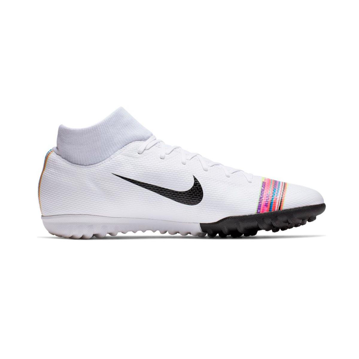 a52b8f6f8ae Tenis Nike Mercurial SuperflyX VI Academy LVL UP Turf White-Black-Pure  platinum - Tienda de fútbol Fútbol Emotion