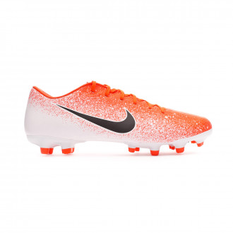 Chaussure de foot  Nike Mercurial Vapor XII Academy MG Hyper crimson-Black-White