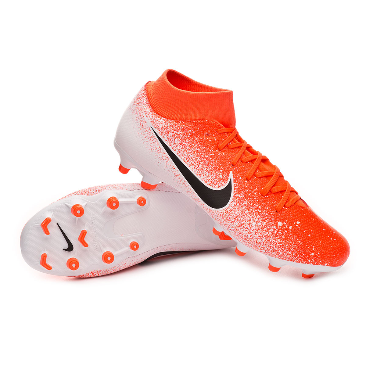 d3dc01c6dd53 Football Boots Nike Mercurial Superfly VI Academy MG Hyper crimson-Black- White - Football store Fútbol Emotion