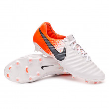 Chaussure de foot Tiempo Legend VII Elite FG White-Black-Hyper crimson
