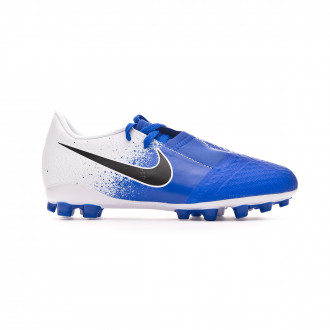 Football Boots  Nike Kids Phantom Venom Academy AG-R  White-Black-Racer blue