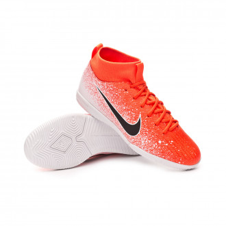 c23ca5fc46231 Zapatilla Nike Mercurial SuperflyX VI Academy IC Niño Hyper  crimson-Black-White