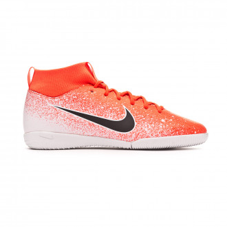 Tenis  Nike Mercurial SuperflyX VI Academy IC Niño Hyper crimson-Black-White