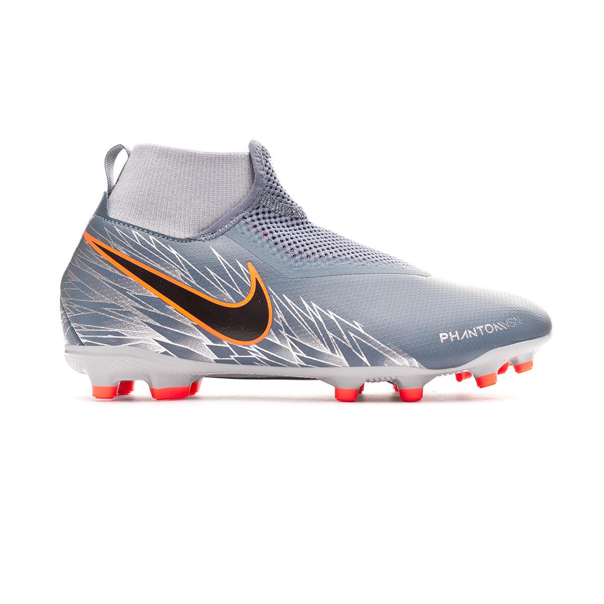 Muscular Decir Permiso  Football Boots Nike Kids Phantom Vision Academy DF FG/MG Armory  blue-Black-Hyper crimson - Football store Fútbol Emotion