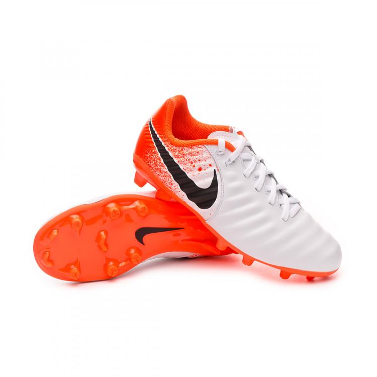 Rectángulo Correctamente Contrato  Football Boots Nike Kids Tiempo Legend VII Academy MG White-Black-Hyper  crimson - Football store Fútbol Emotion