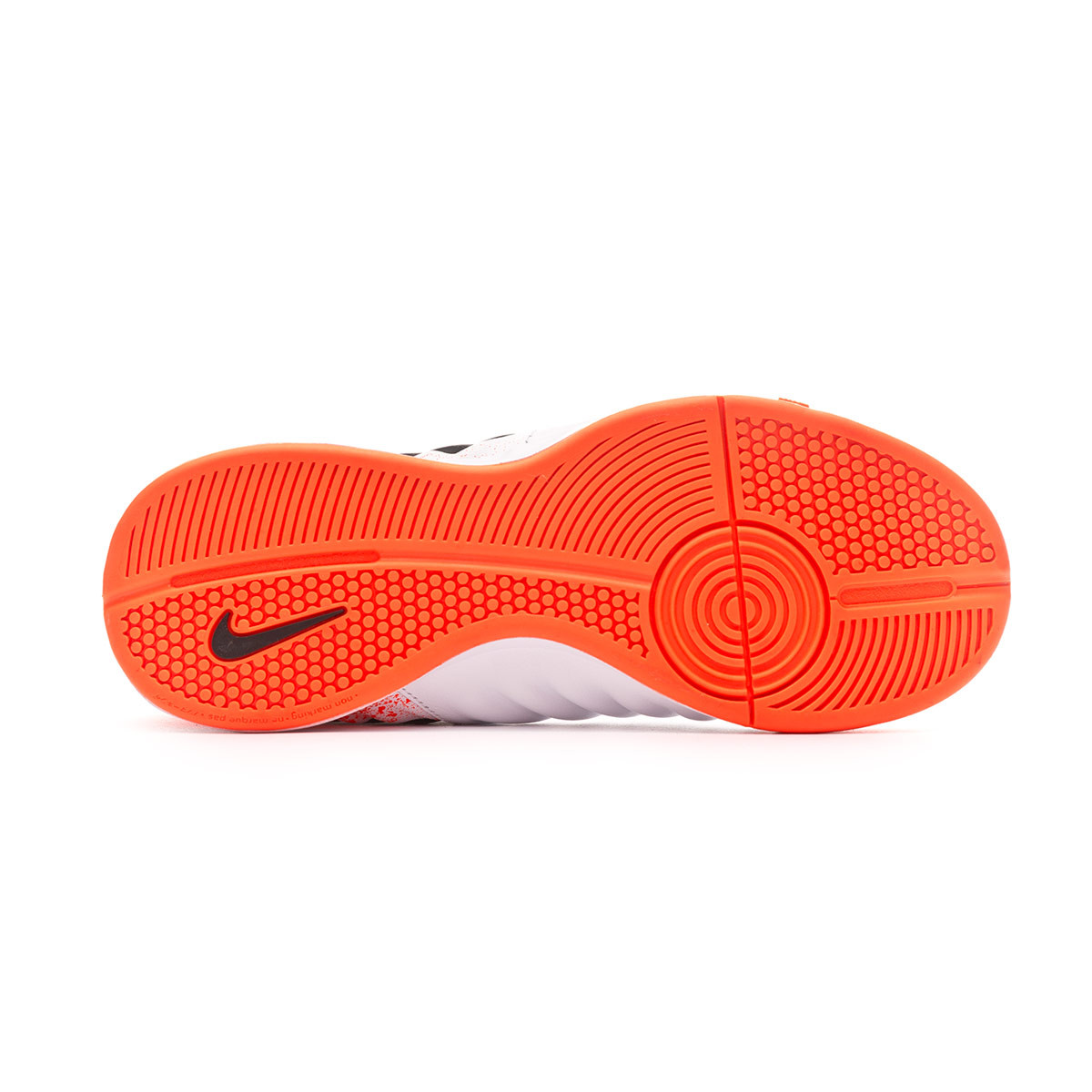 629cc054abd Futsal Boot Nike Tiempo LegendX VII Academy IC Niño White-Black-Hyper  crimson - Tienda de fútbol Fútbol Emotion