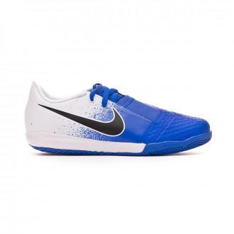Zapatilla Nike Phantom VenomX Academy IC Niño White-Black-Racer blue