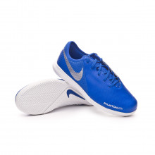 Tenis Phantom Vision Academy IC Niño Racer blue-Chrome-White