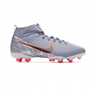 Chaussure de foot  Nike Mercurial Superfly VI Academy MG enfant Armory blue-Black-Wolf grey
