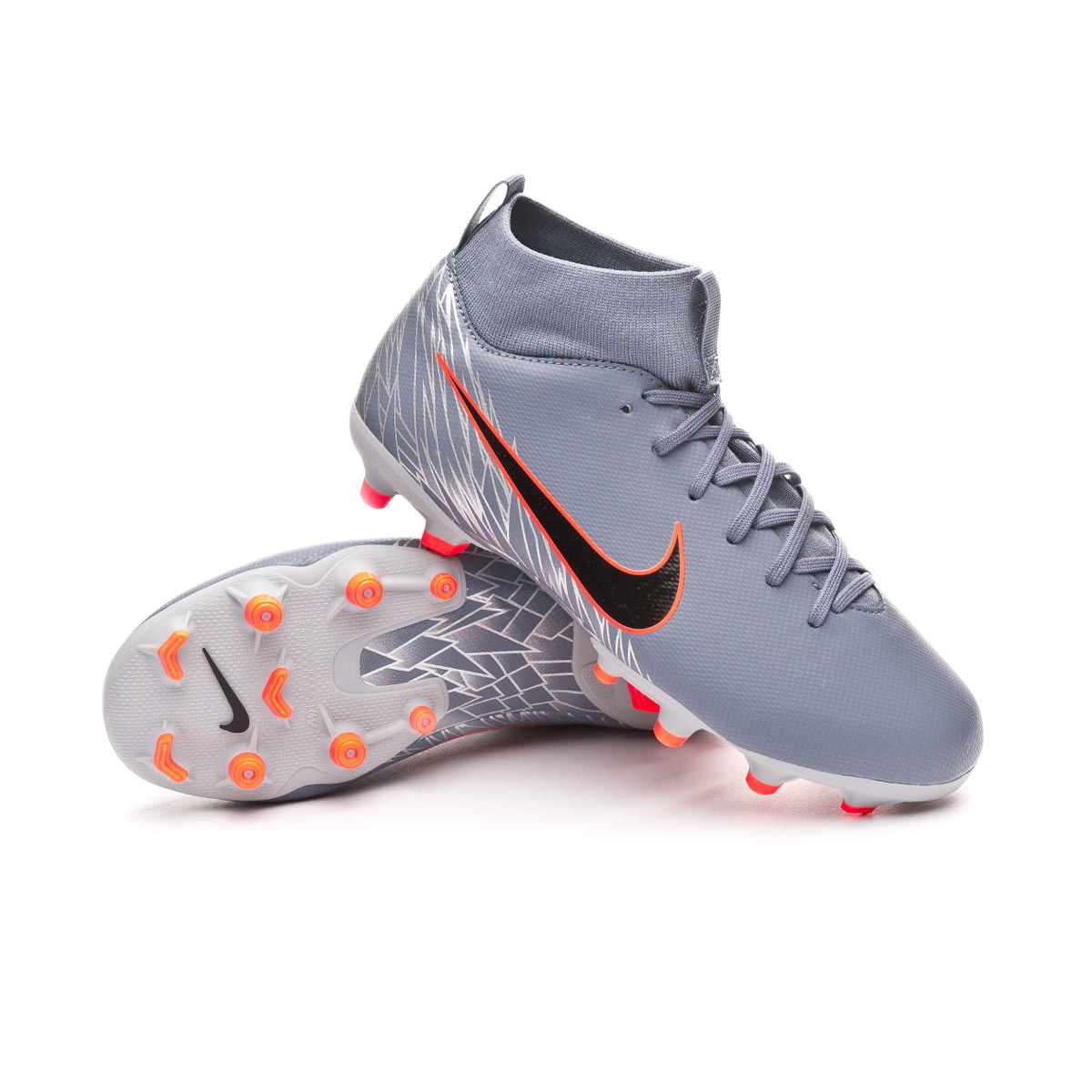 0f0664580 Nike Kids Mercurial Superfly VI Academy MG Niño Football Boots. Armory blue- Black-Wolf grey ...