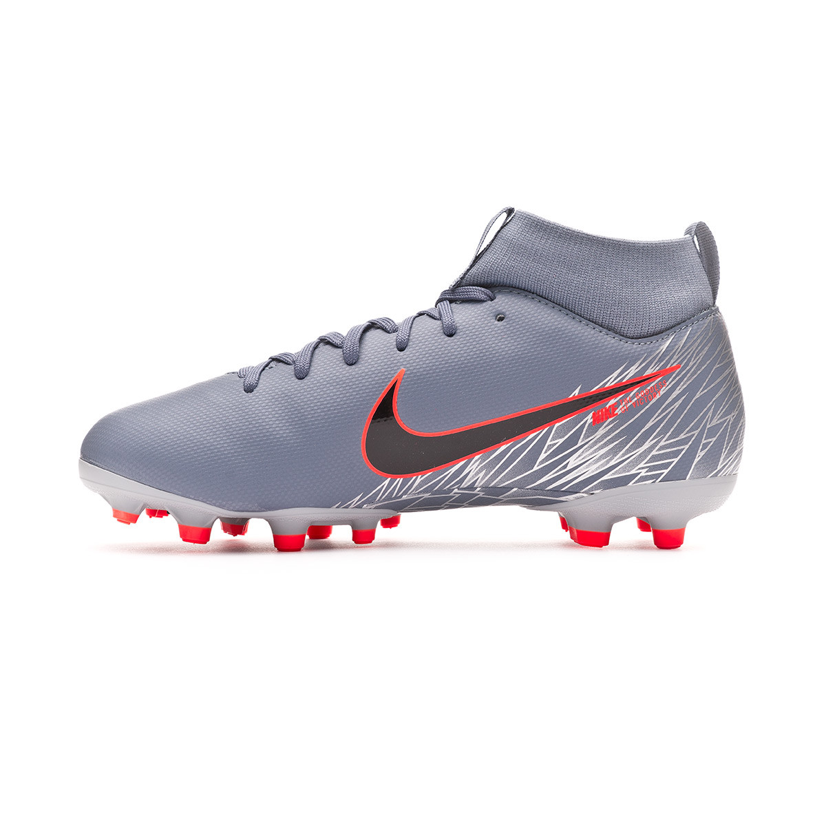 9f693dd5a Football Boots Nike Kids Mercurial Superfly VI Academy MG Niño Armory blue- Black-Wolf grey - Tienda de fútbol Fútbol Emotion