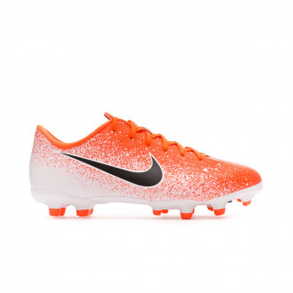 Football Boots Nike Kids Mercurial Vapor XII Academy MG  Hyper crimson-Black-White