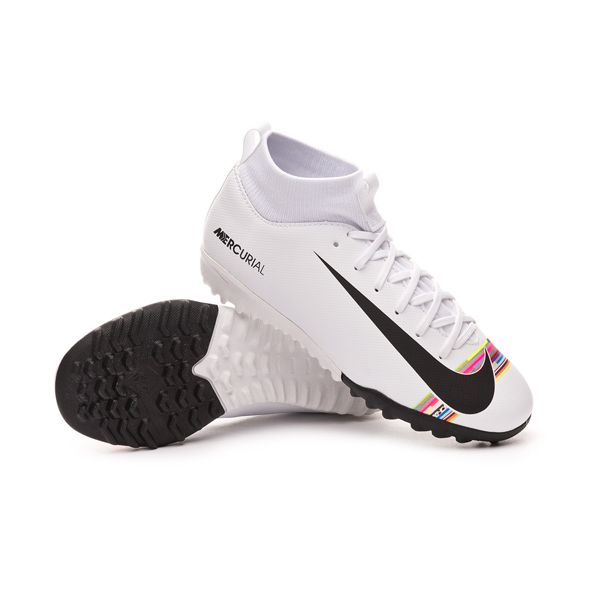 authentic get online save up to 80% Nike Kids Mercurial SuperflyX VI Academy LVL PV Turf Football Boot