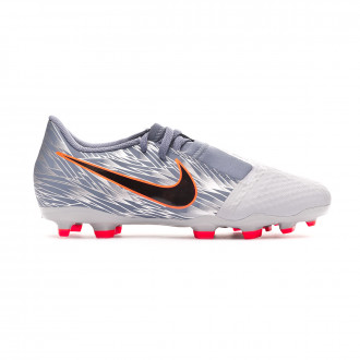 Football Boots  Nike Kids Phantom Venom Academy FG  Wolf grey-Black-Armory blue