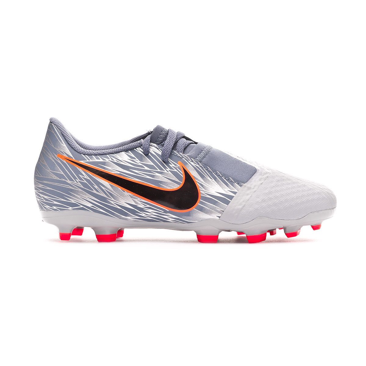 63371fb78 Football Boots Nike Kids Phantom Venom Academy FG Wolf grey-Black-Armory  blue - Football store Fútbol Emotion