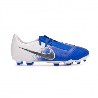 Football Boots  Nike Kids Phantom Venom Elite FG White-Black-Racer blue
