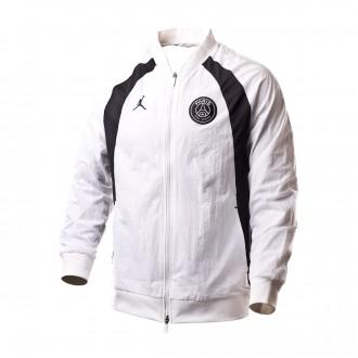 Chaqueta  Nike Jordan x PSG AJ1 White-Black