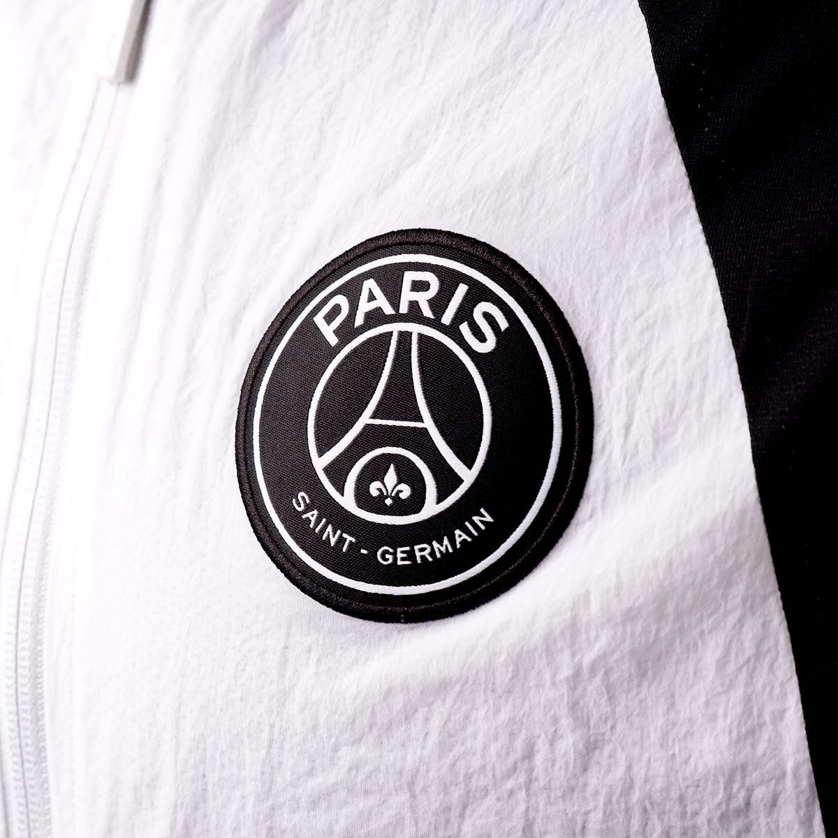 d72e2d9aa Jacket Nike Jordan x PSG AJ1 White-Black - Football store Fútbol Emotion