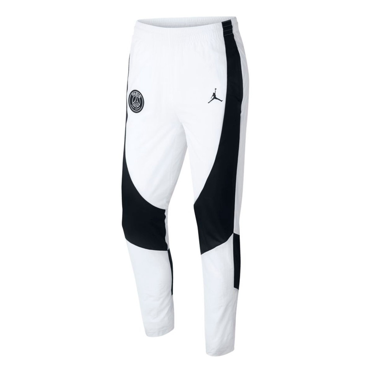 buy online ea525 8bcff Nike Jordan x PSG AJ1 Long pants. White-Black ...